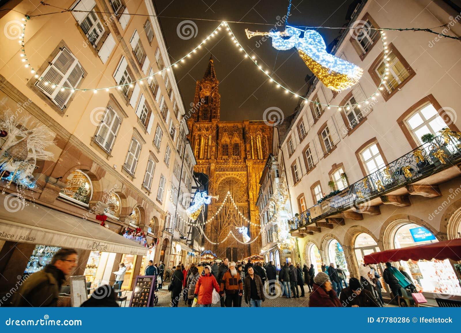 the oldest christmas market in europe strasbourg alsace fran editorial photo image 47780286. Black Bedroom Furniture Sets. Home Design Ideas