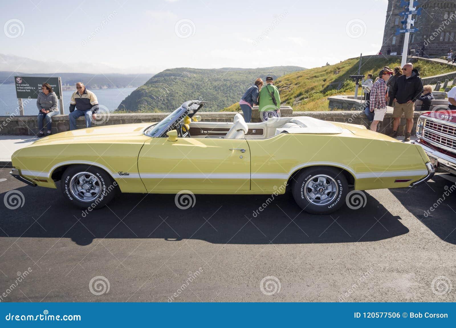 1970 Olds-Convertibele Machete