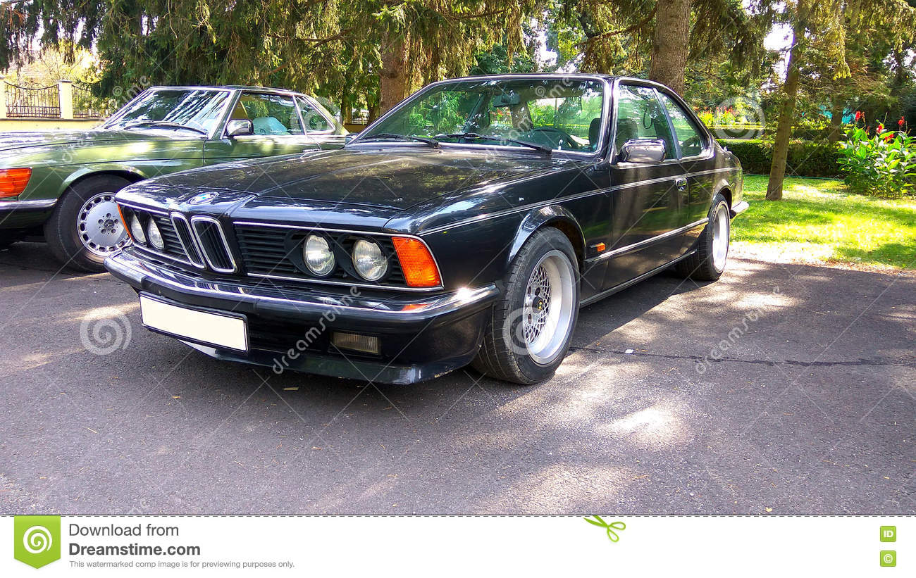 Oldtimer Bmw 635 Cs Coupe Car Editorial Stock Image Image Of Auto Engine 78084464