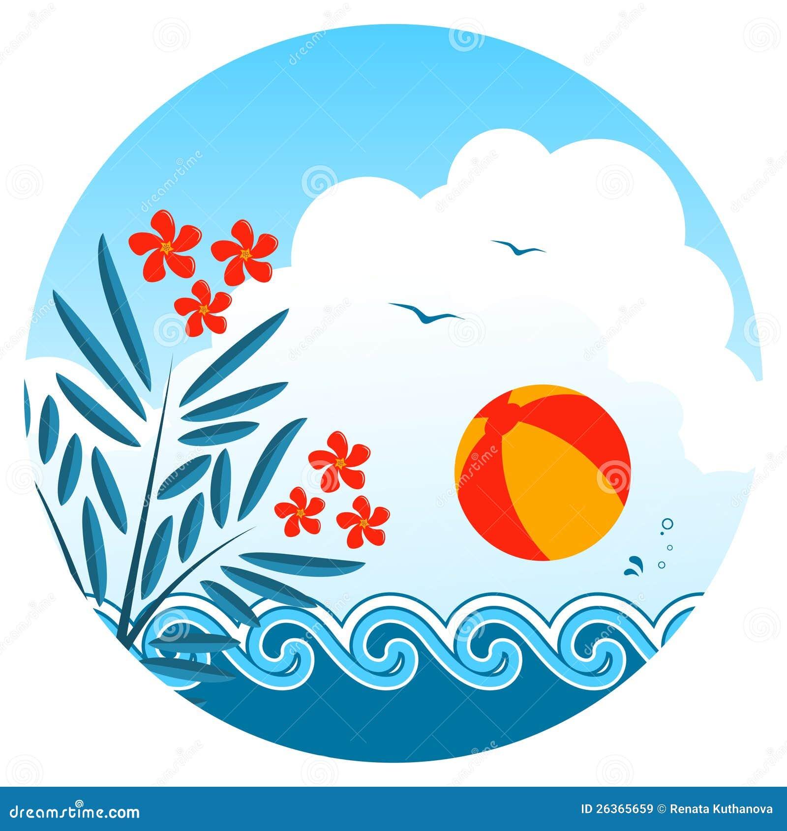 Oleander- und Wasserball