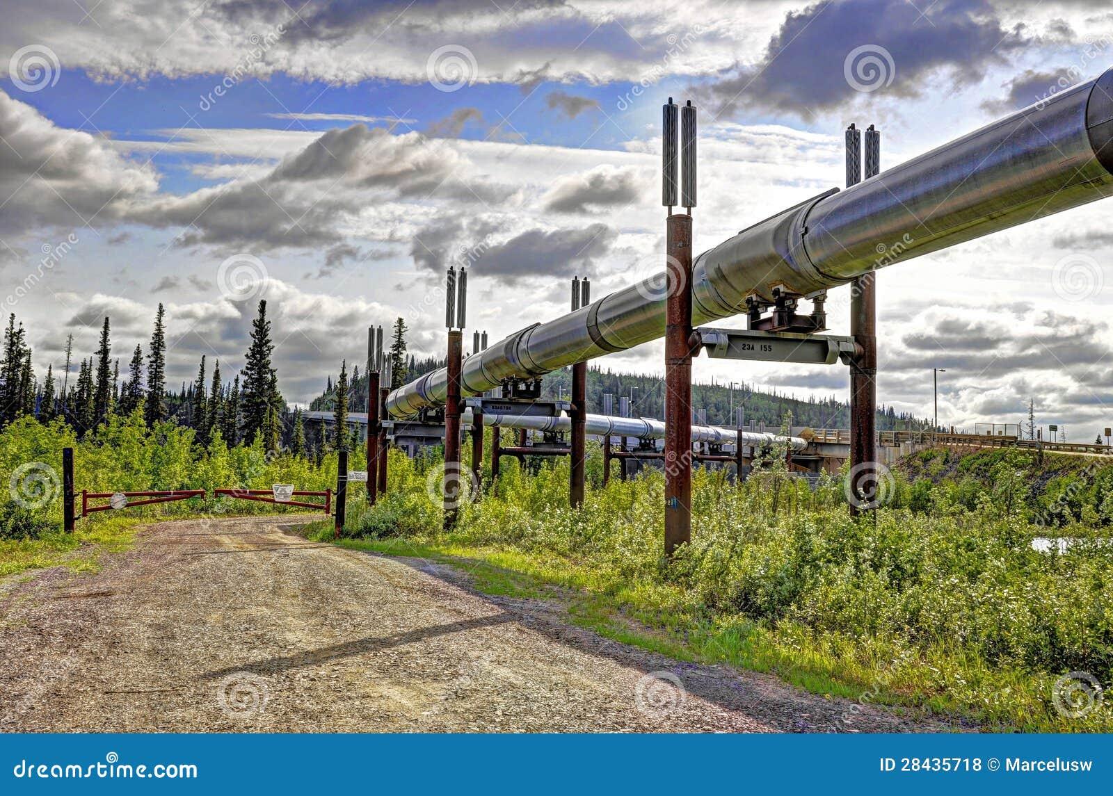 Oleoduto do transporte Alaska