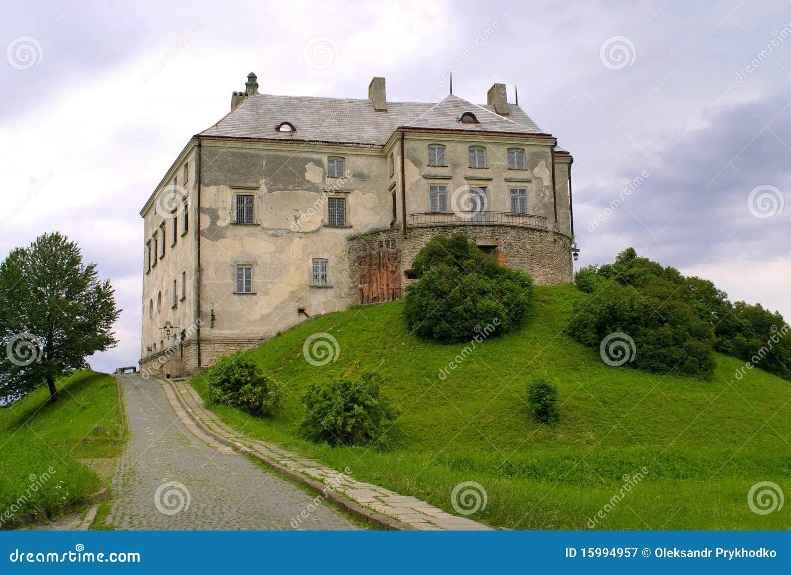 Olesko Украина замока старое