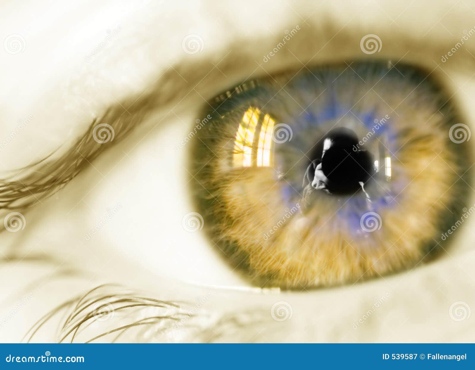 Olho amarelo