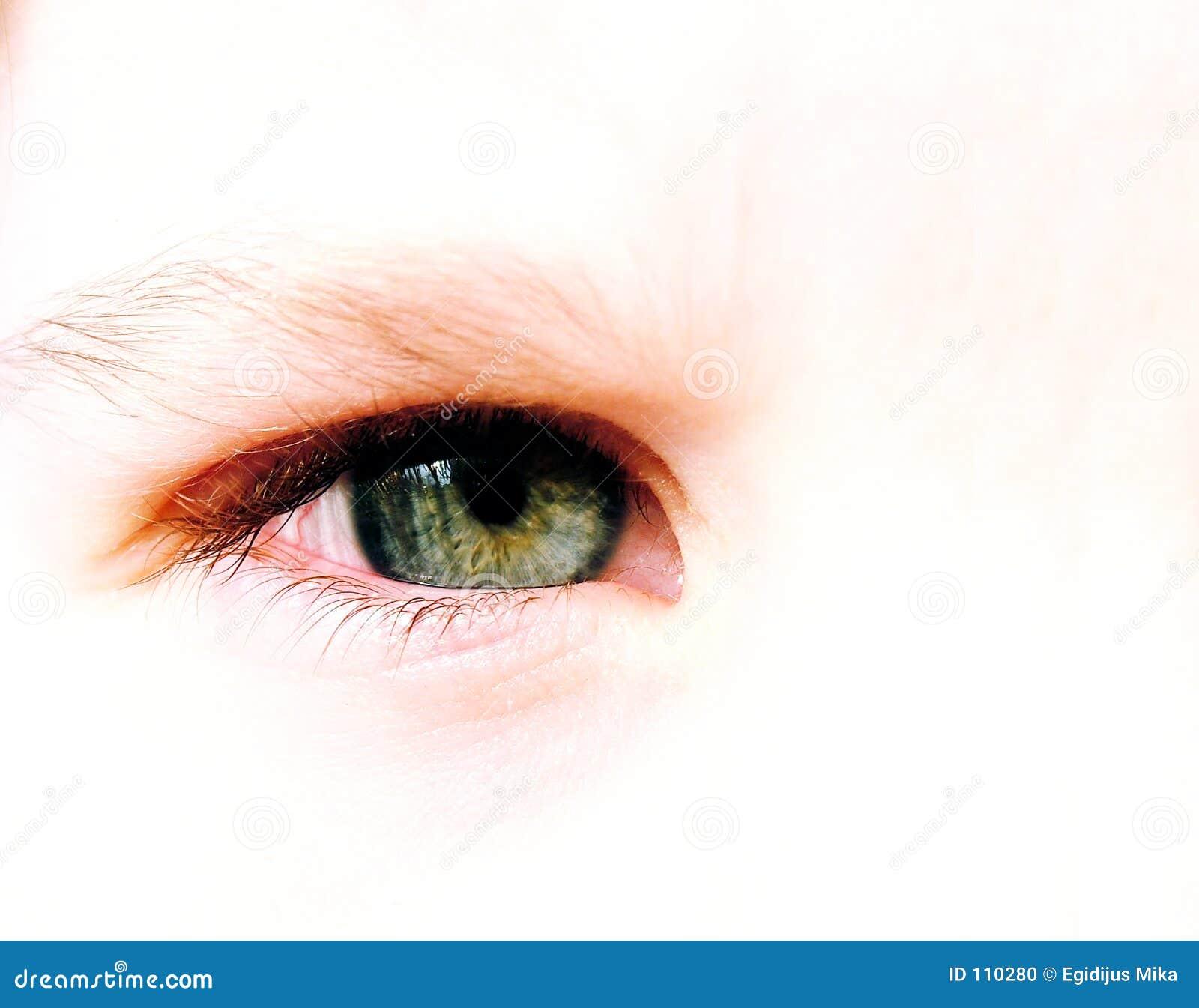 Olho da criança