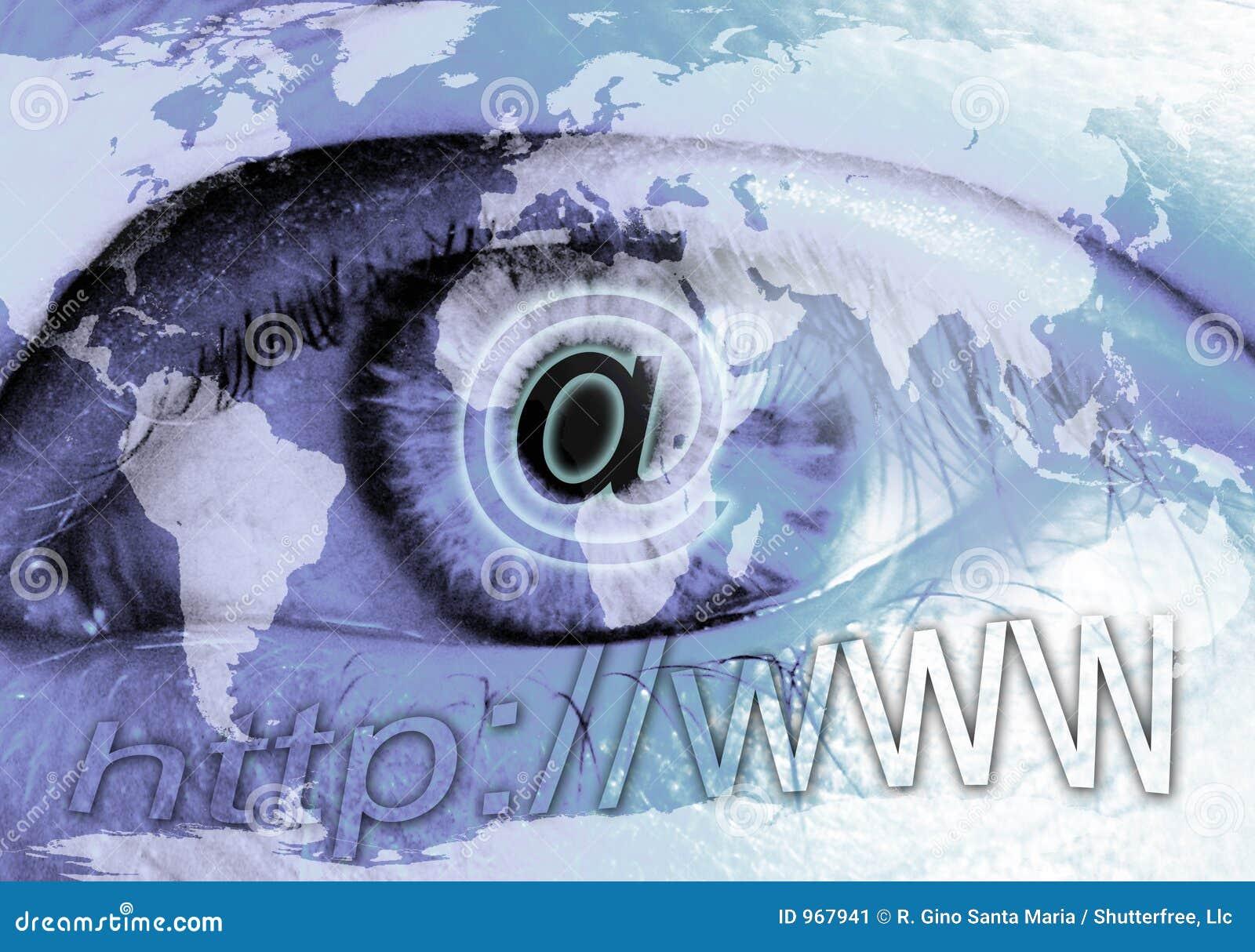 Olho e Internet