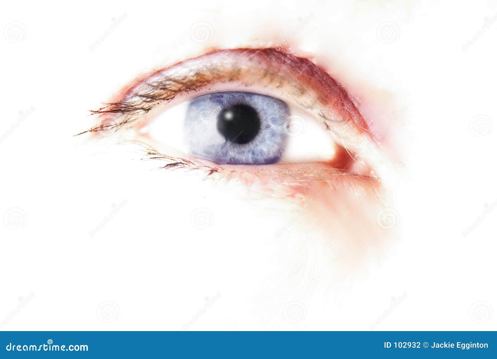 Olho estilizado