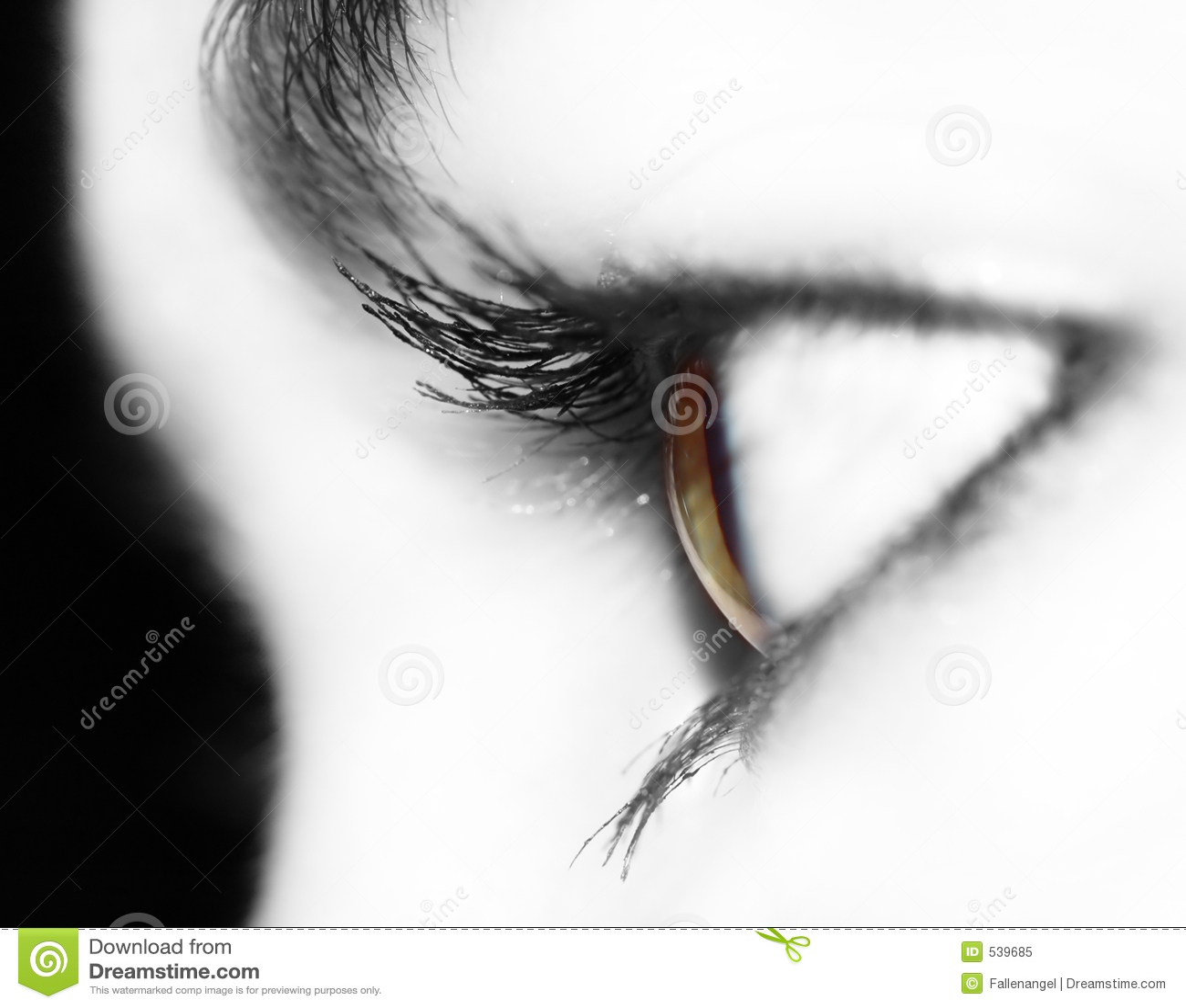 Olho transparente