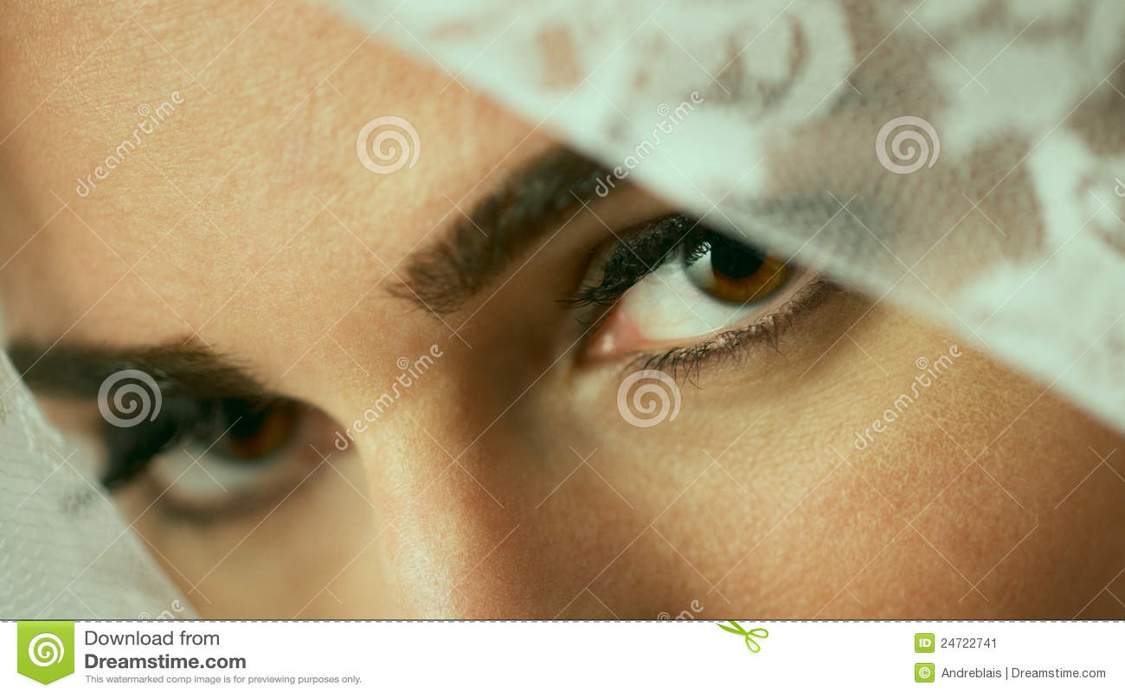 Olhos do véu