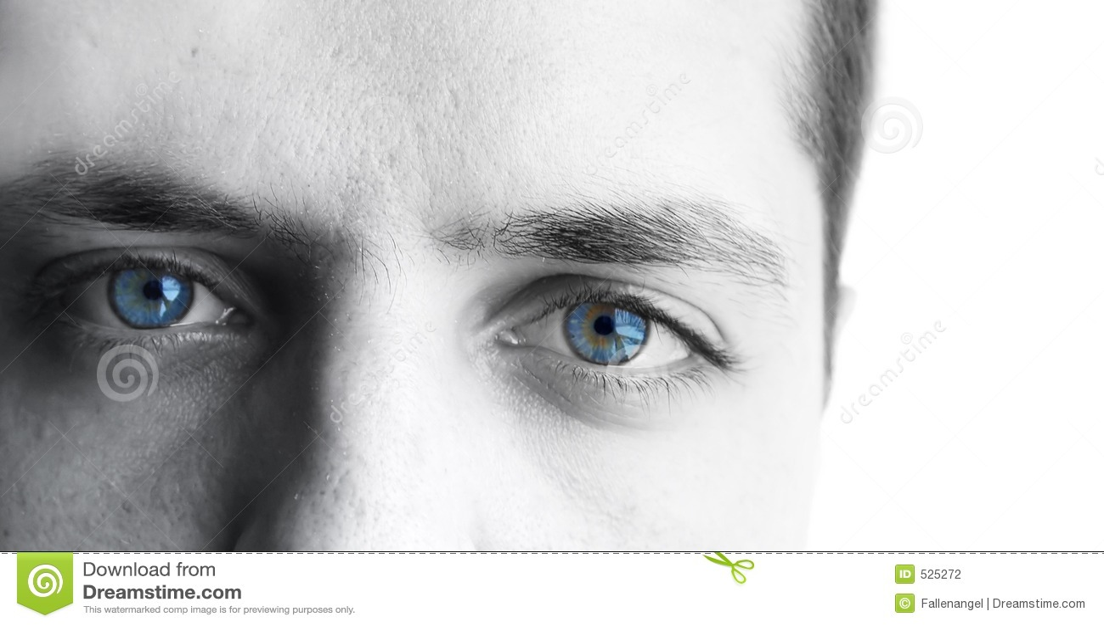 Olhos dos homens