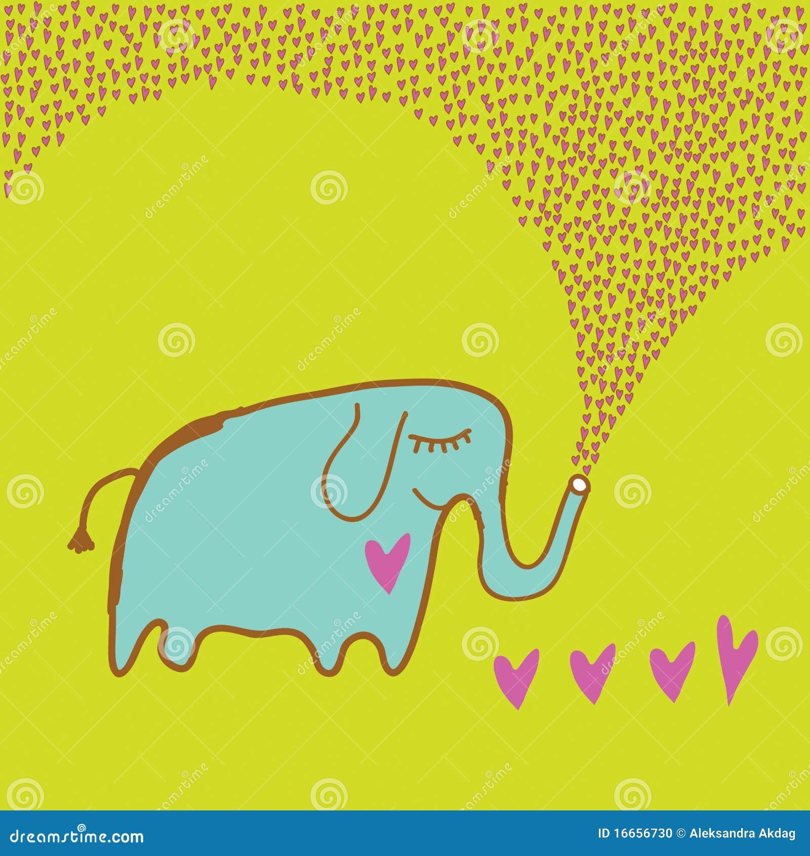 Olifant in liefde