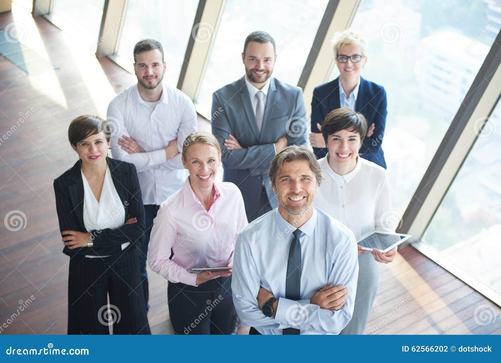 Olik grupp för affärsfolk