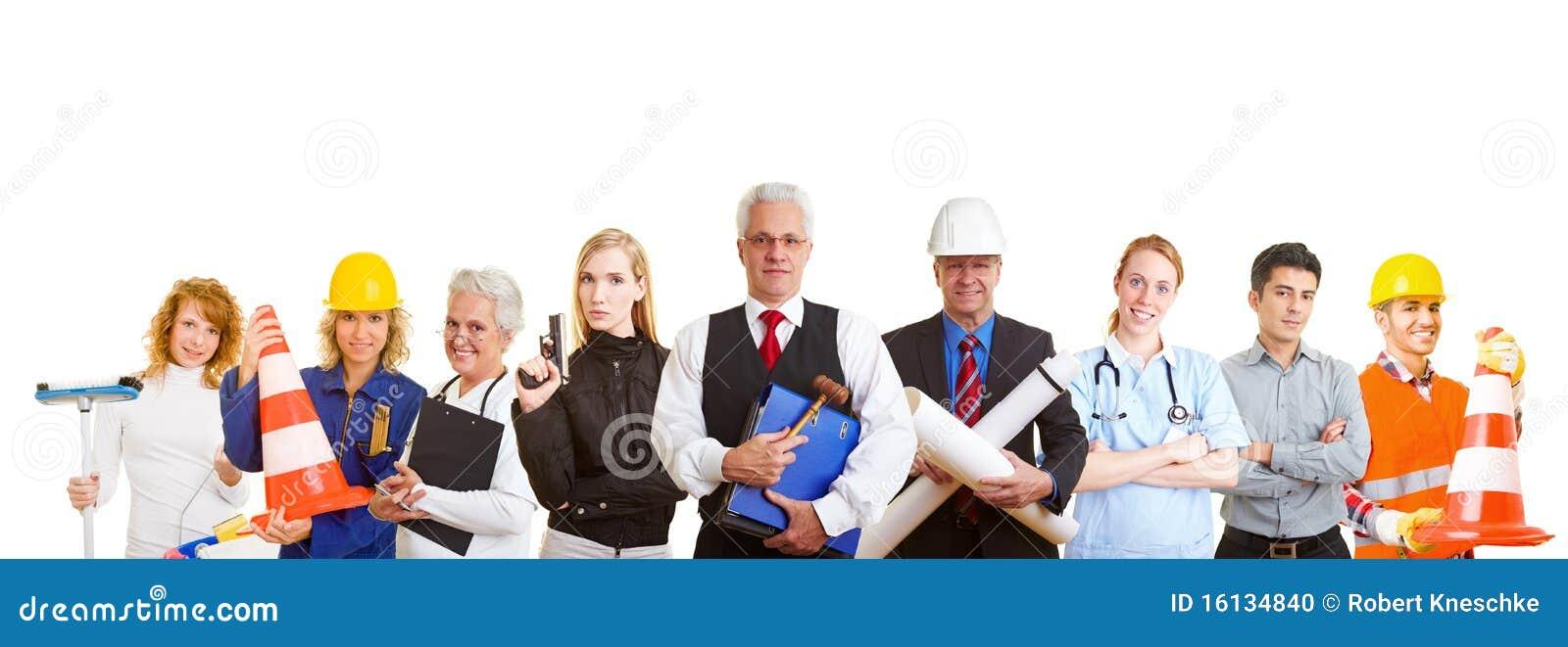 Olika gruppockupationar
