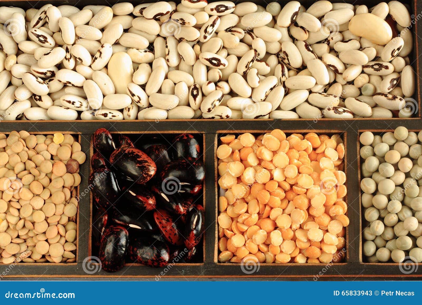 olika sorters linser mat