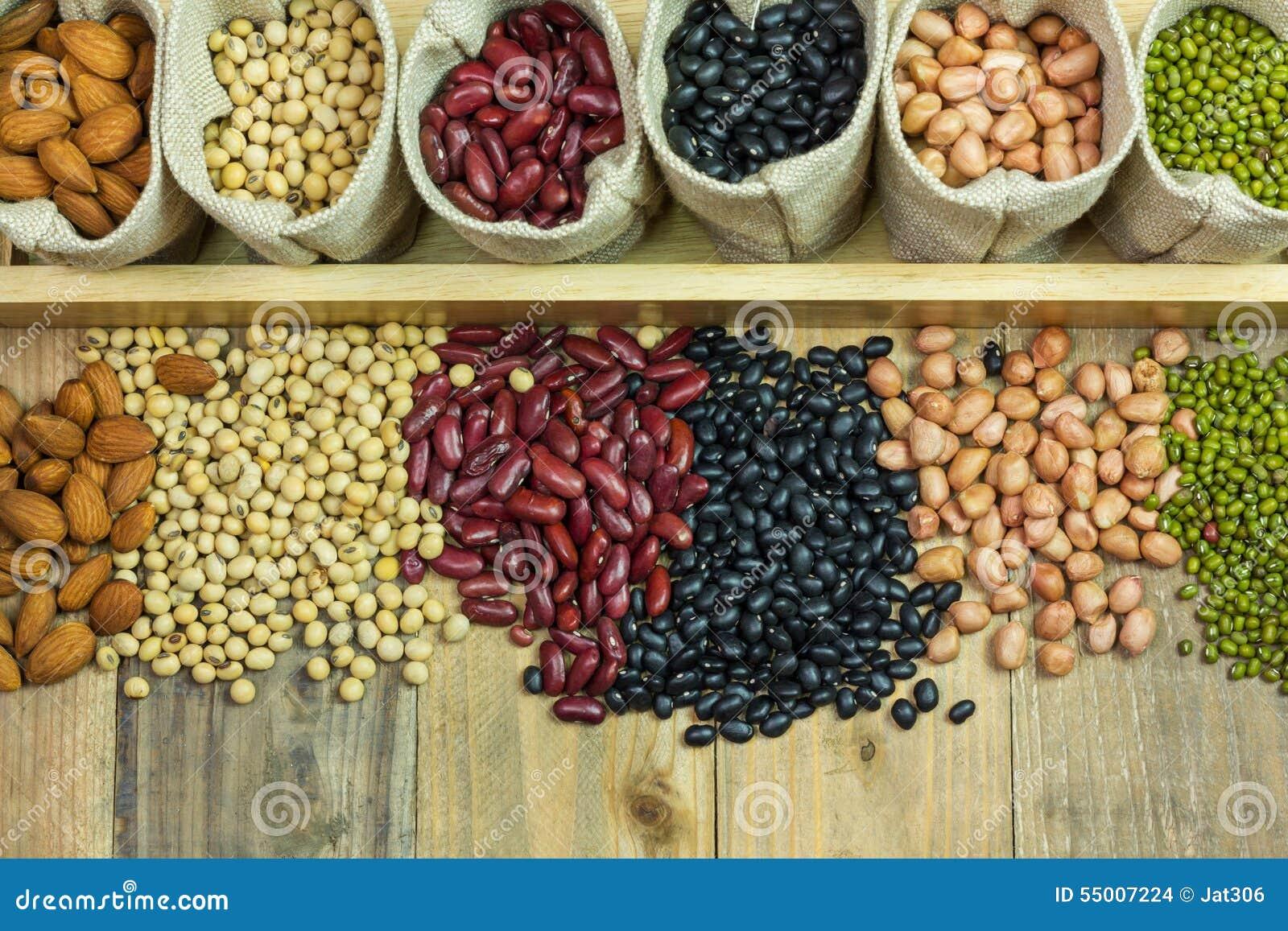 bönor olika sorter