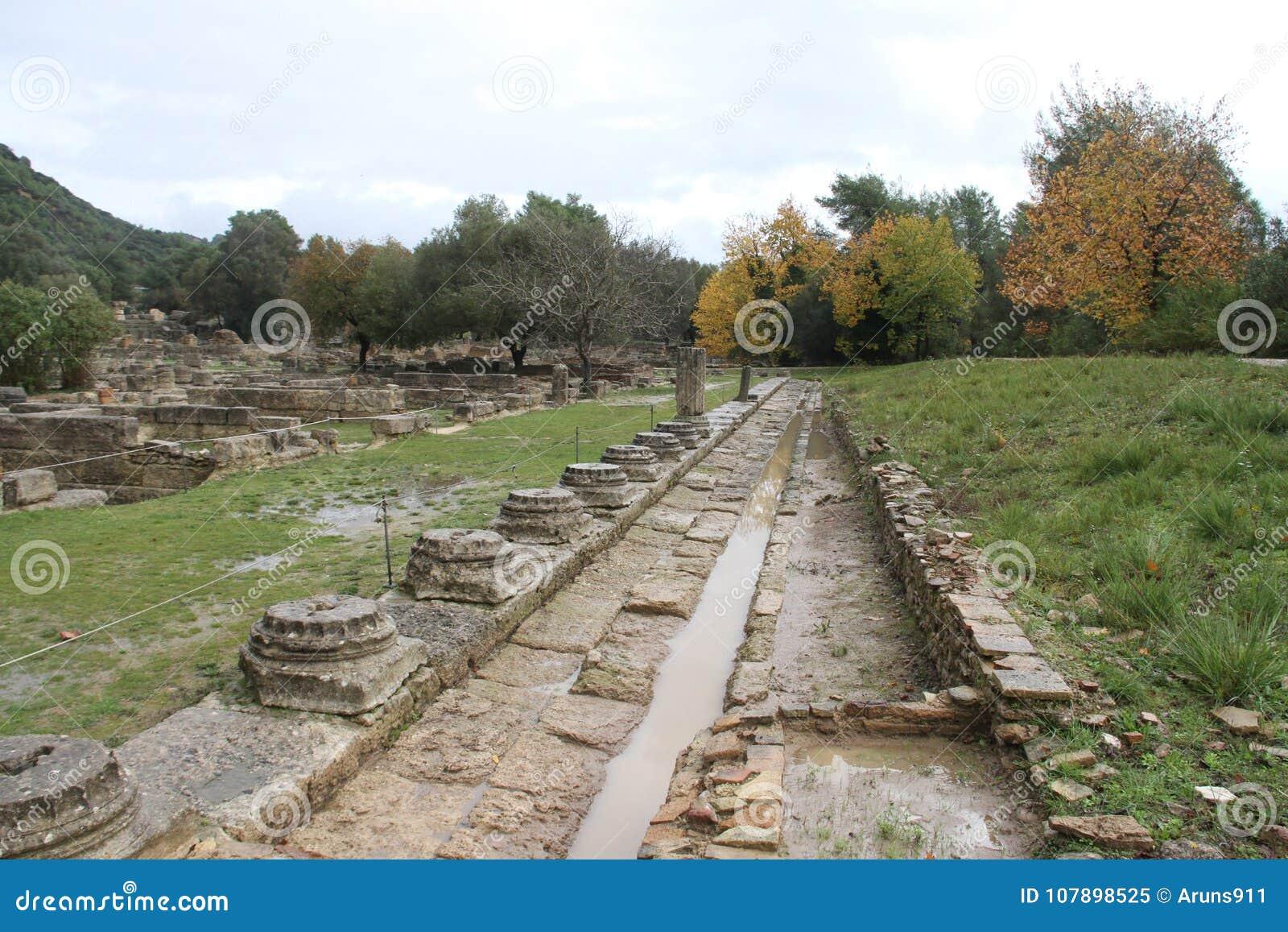 Olimpia, Greece,