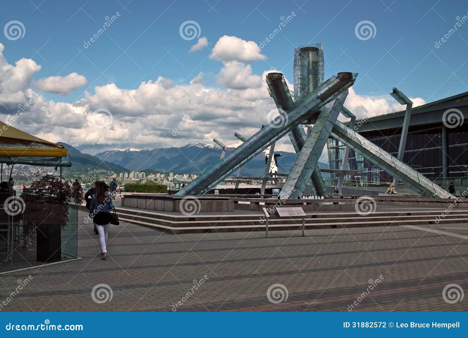 2010 olimpiad zimowych pochodnia, Vancouver BC Kanada