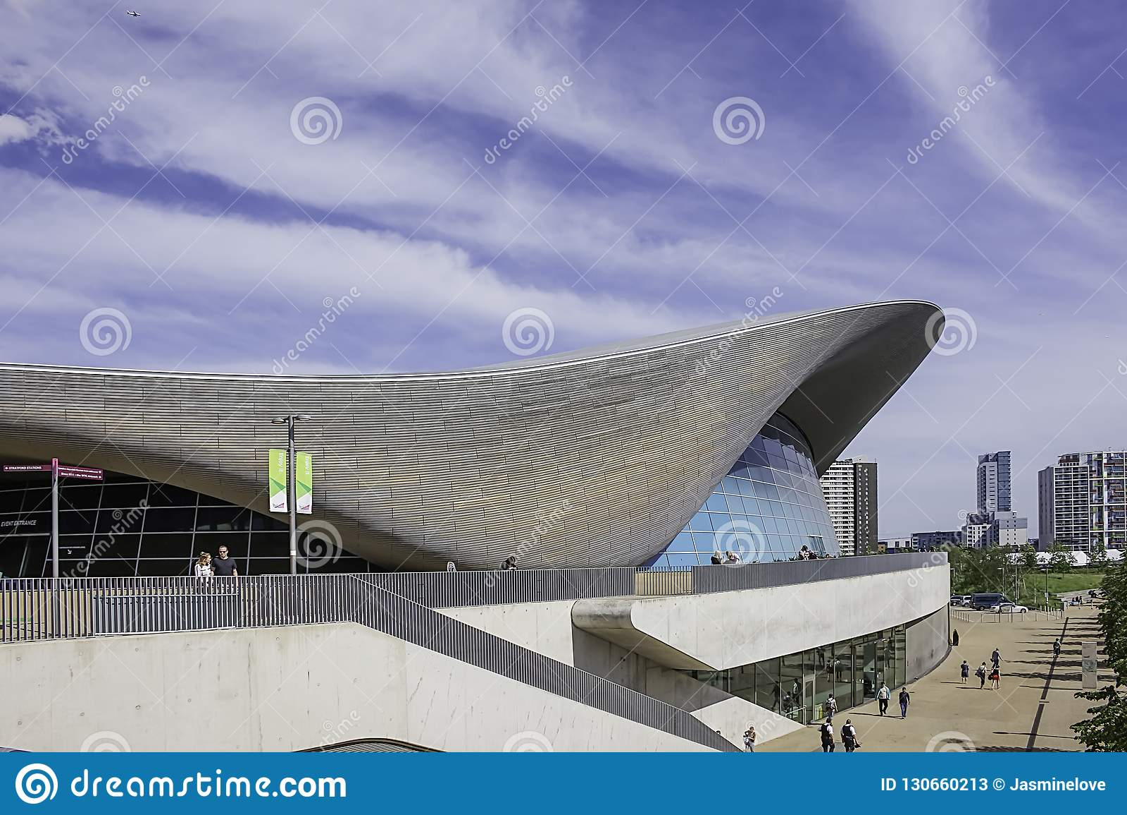 Olimpijski basen Londyn
