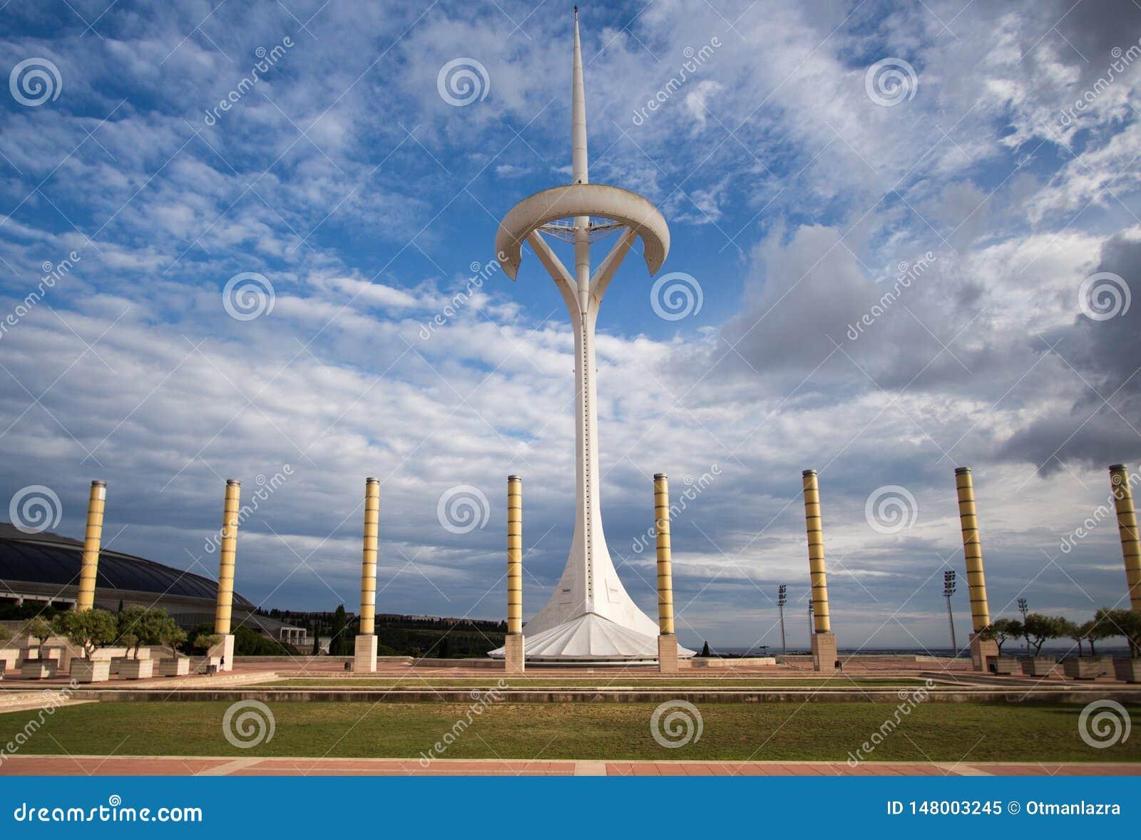 Olimpijski park Montjuic w Barcelona