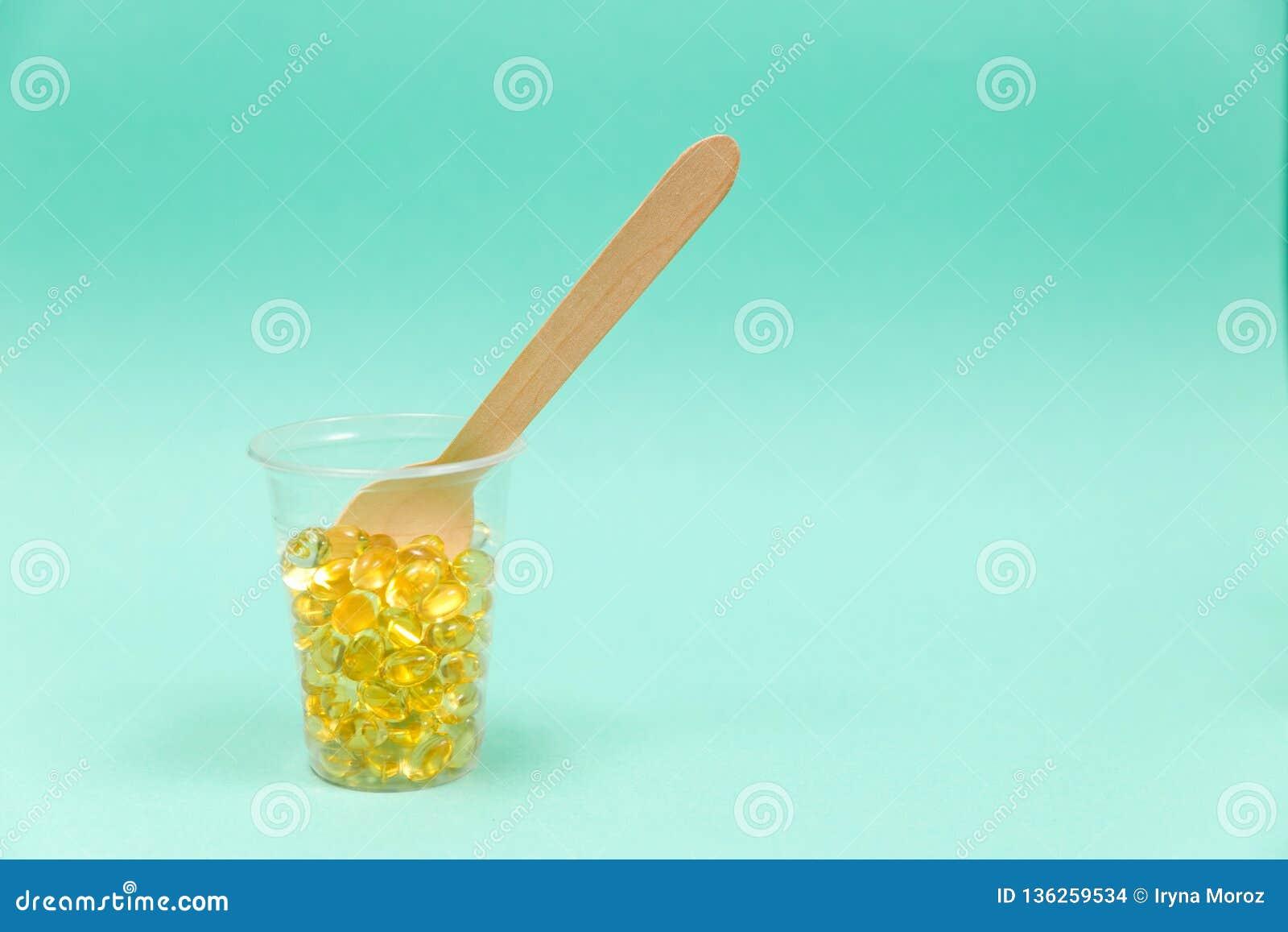 Olio di fegato di merluzzo omega 3 capsule del gel