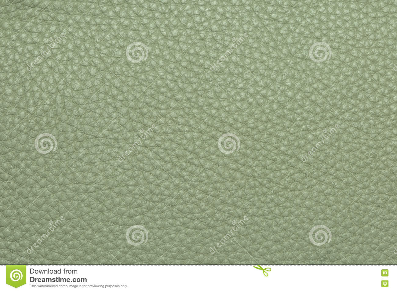 olive colored leather grained texture background pattern stock photo