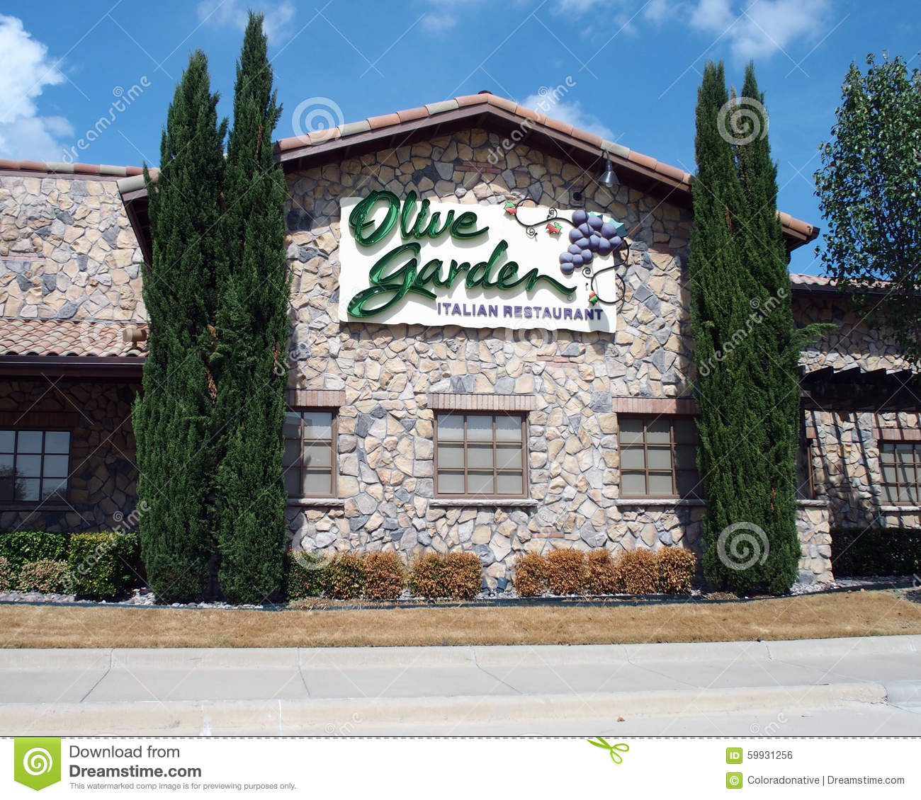 Olive Garden Italian Restaurant Editorial Photo Image 59931256