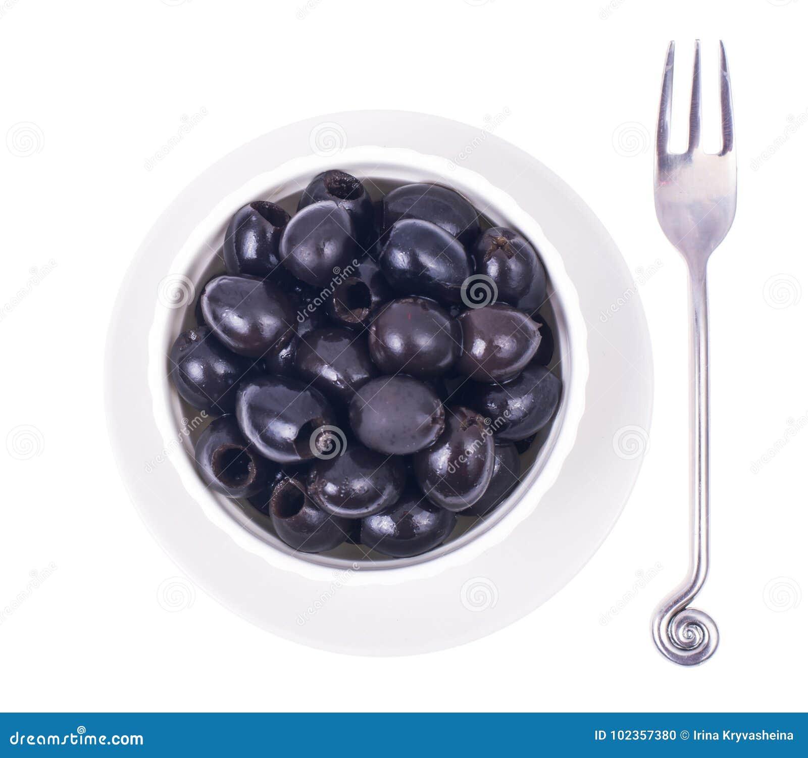Olive nere senza pozzi
