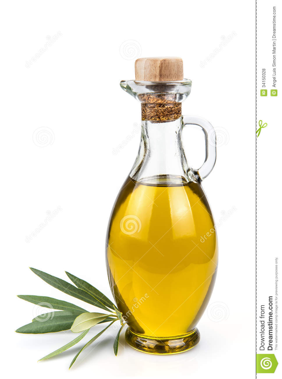 Olive glass oils up big dick