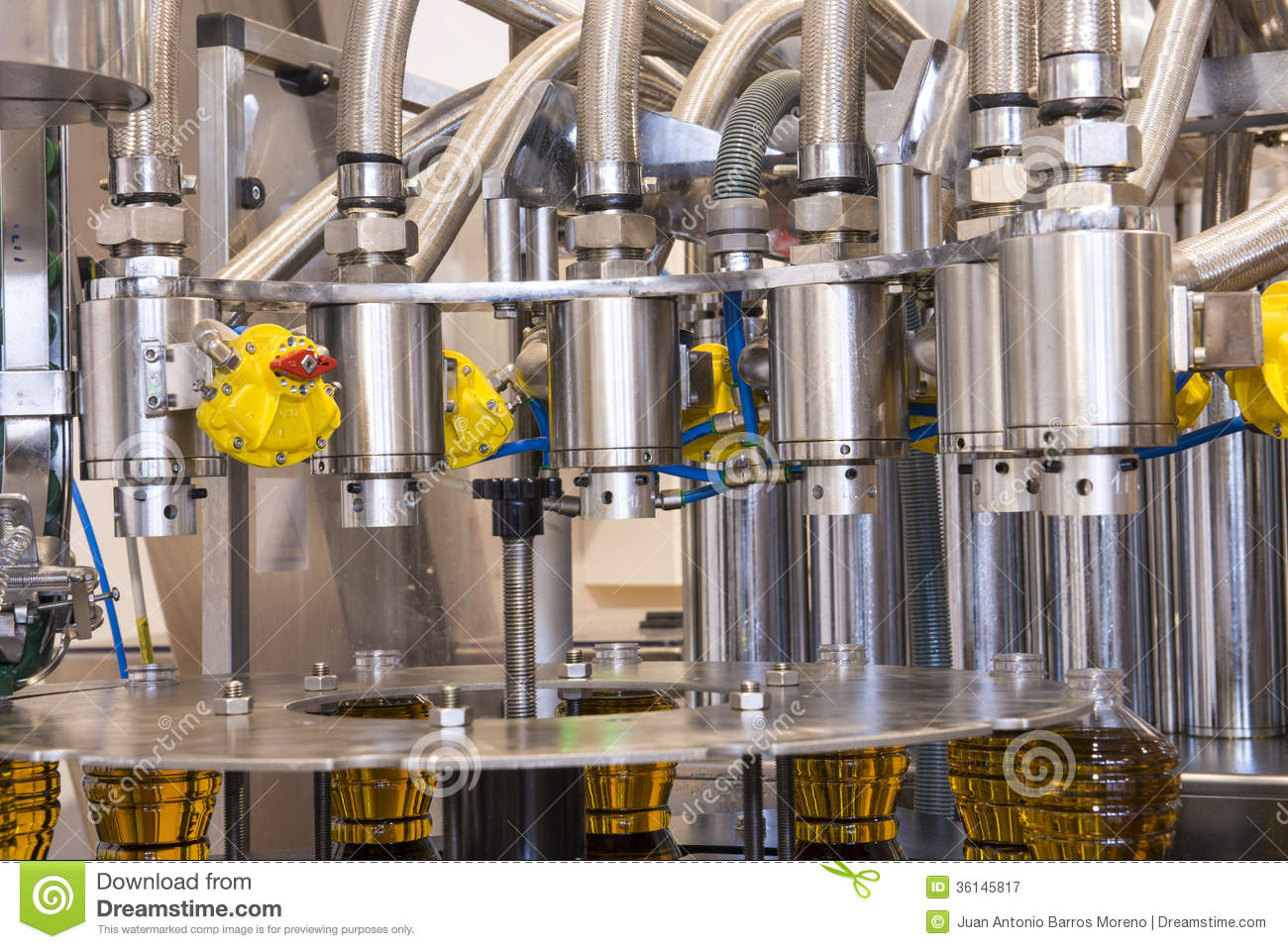 Olive Oil Factory, Olive Production Stock Image - Image of