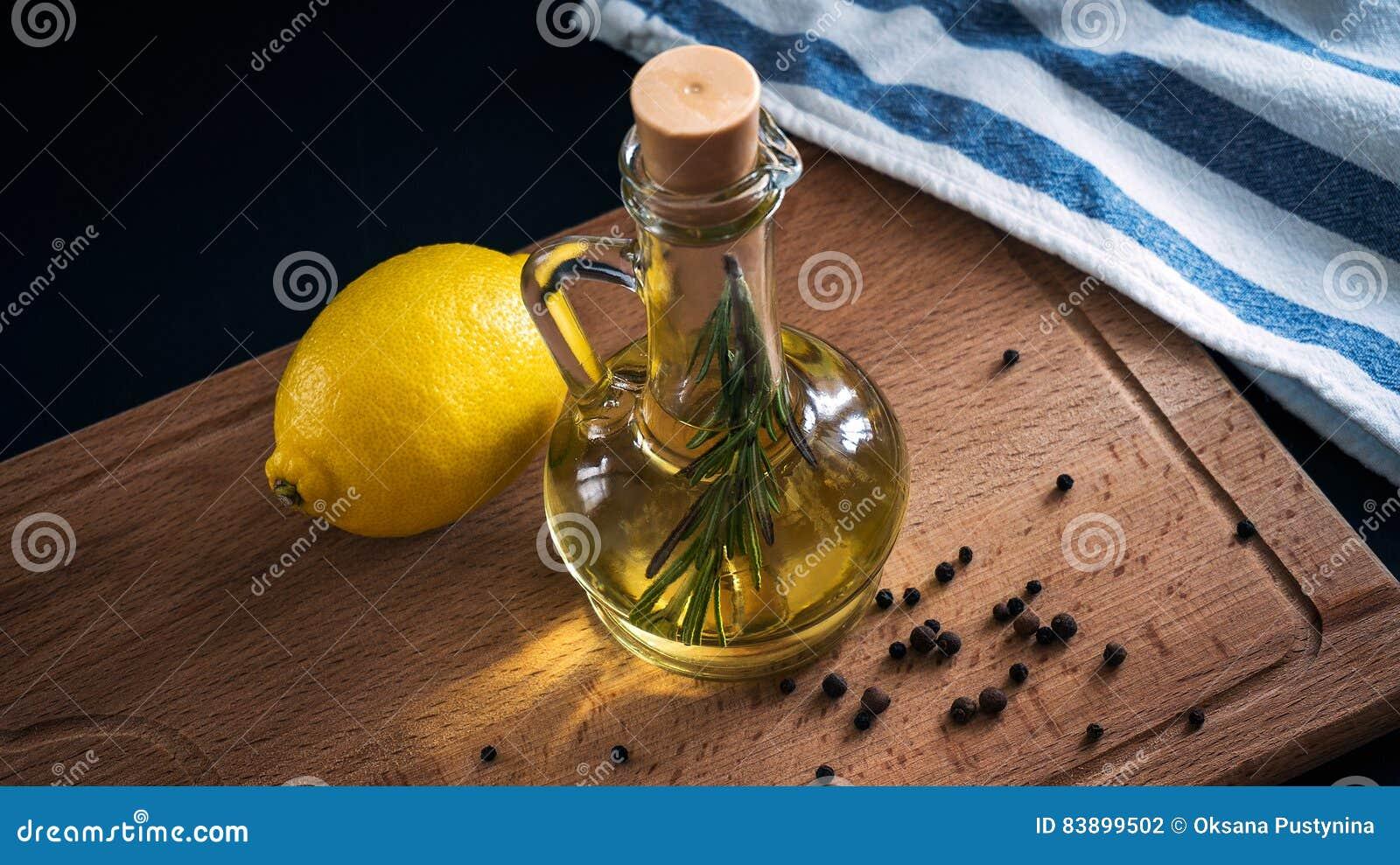 Olive Oil och citron