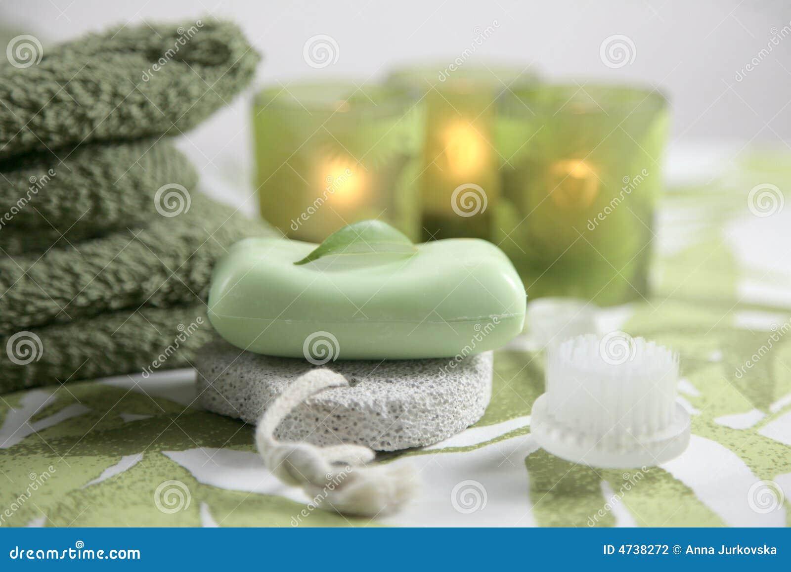 Olive spa set