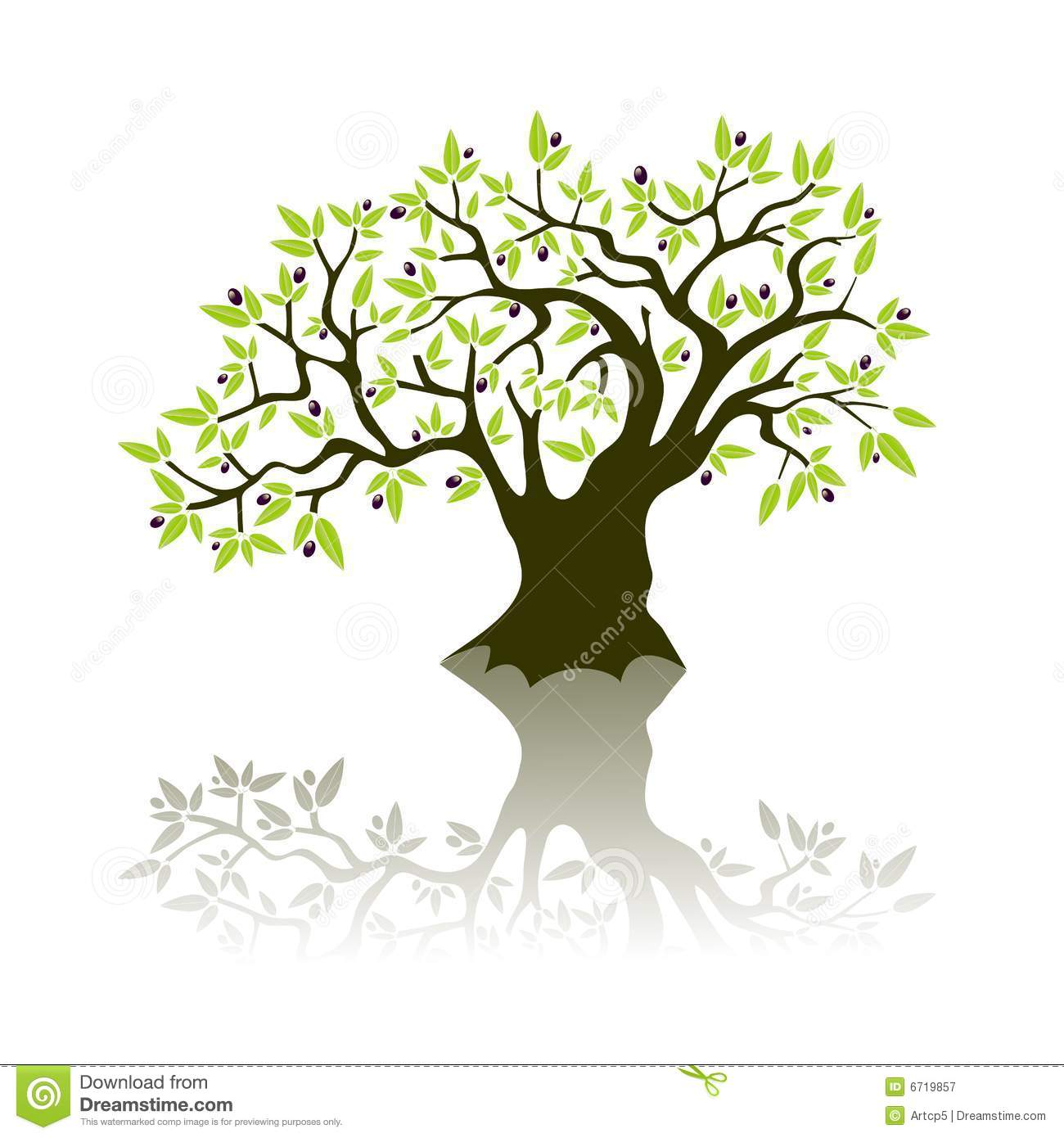 Olive Tree Clipart