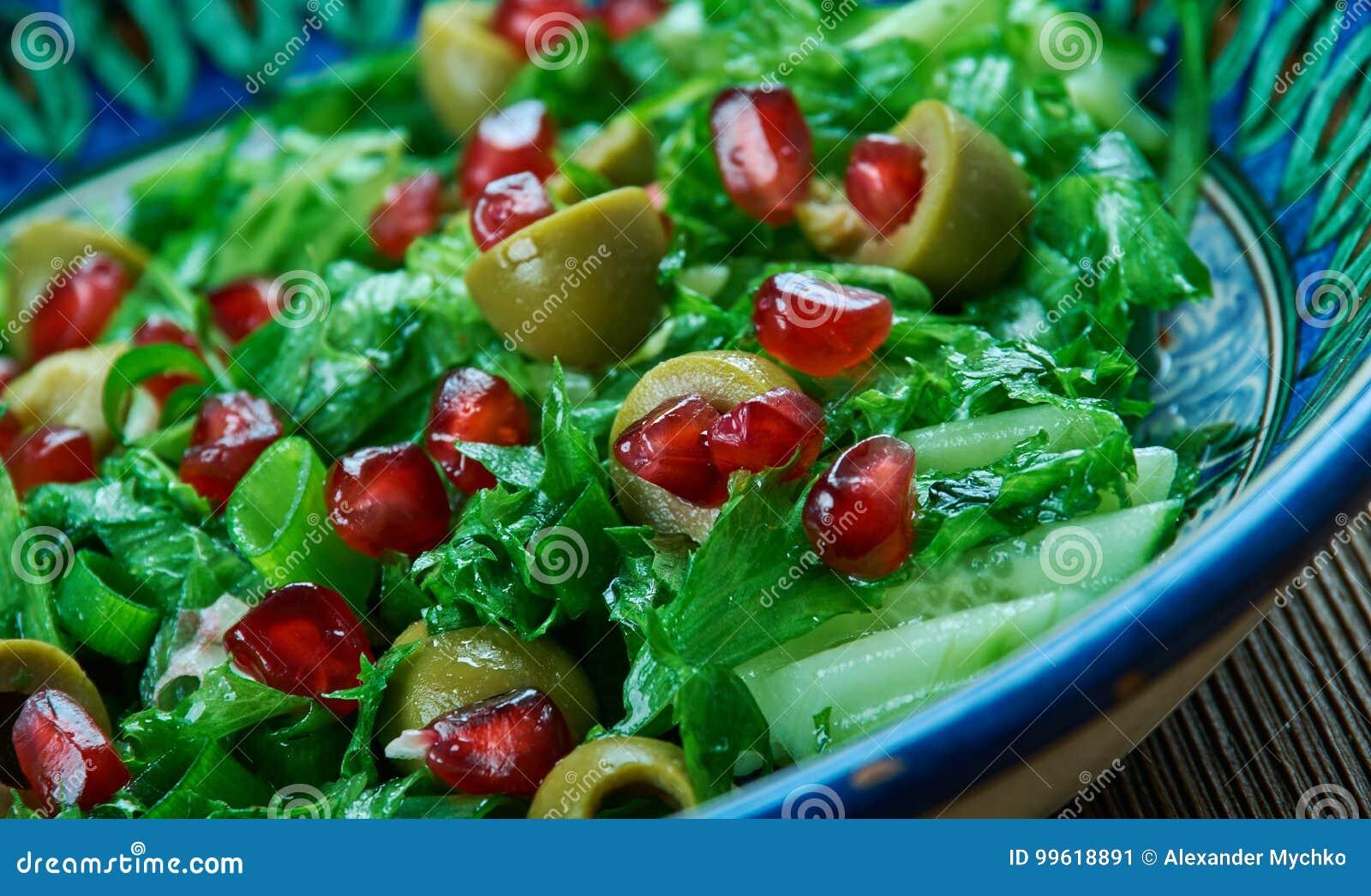 Olive Turkish sallad