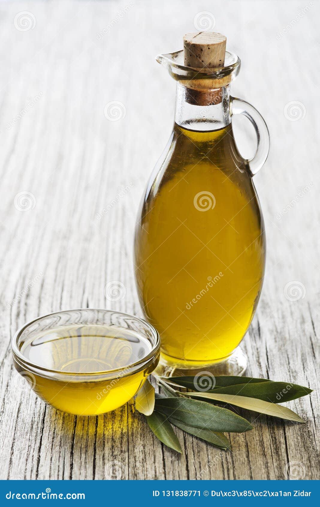 Olivenölflaschenhintergrund