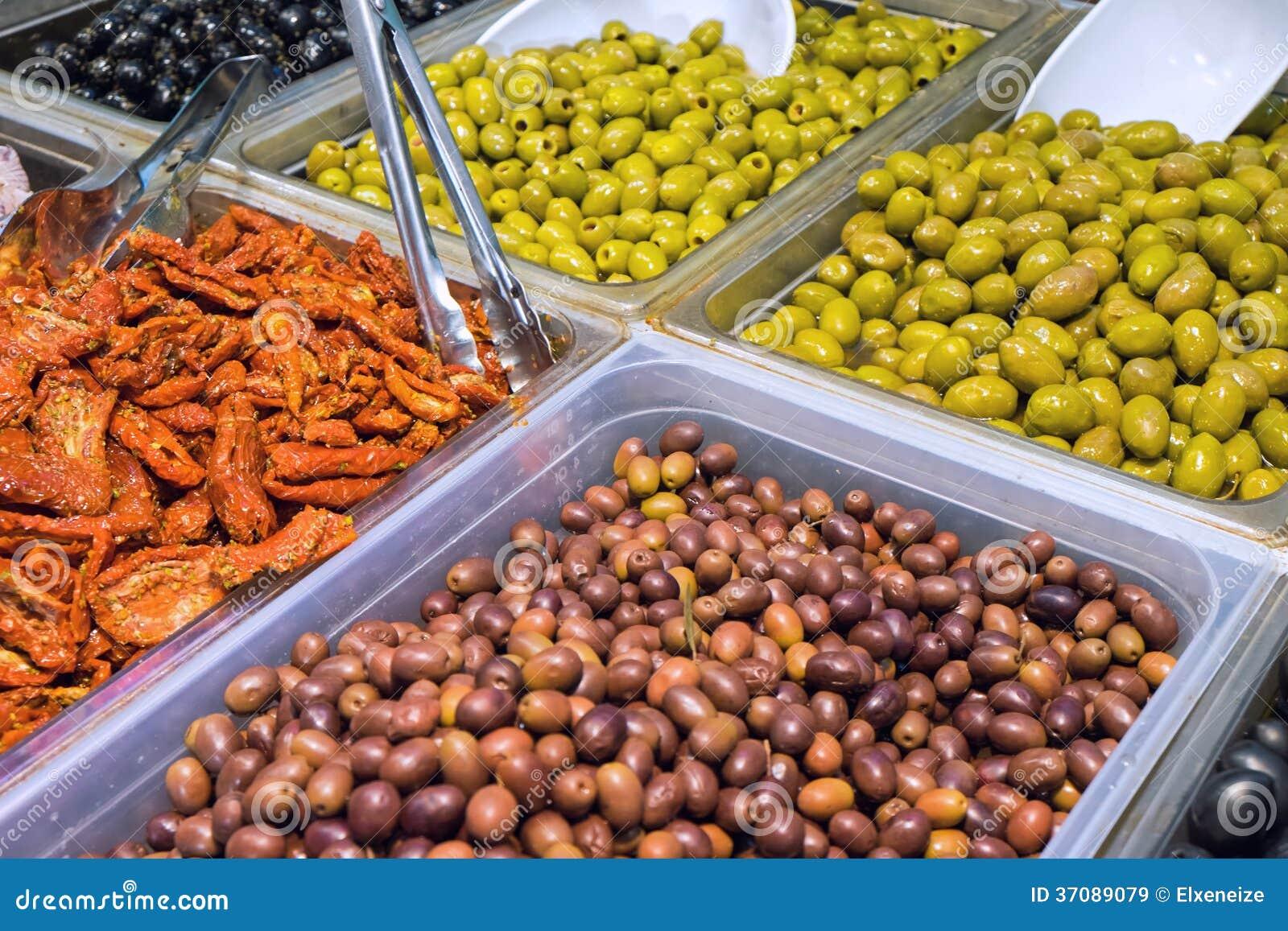 Download Oliwki I Wysuszeni Pomidory Obraz Stock - Obraz złożonej z śródziemnomorski, marynuje: 37089079