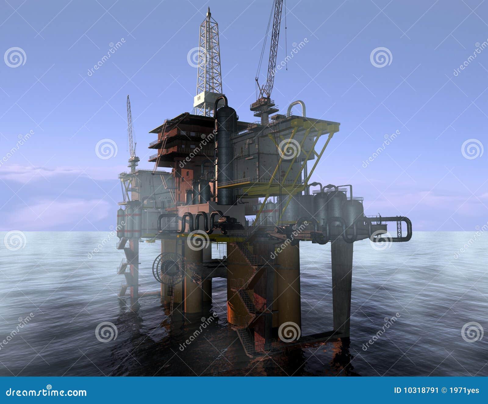 Oljaproduktion