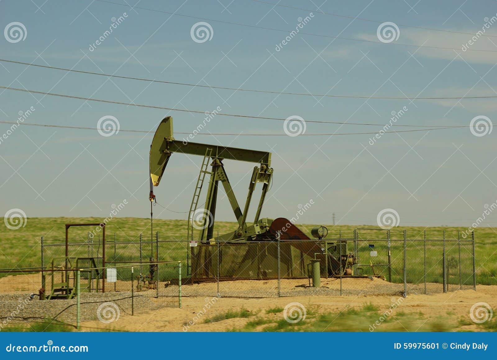 Olje- brunn