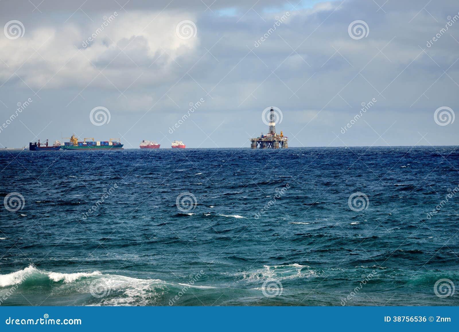 Olje- plattform