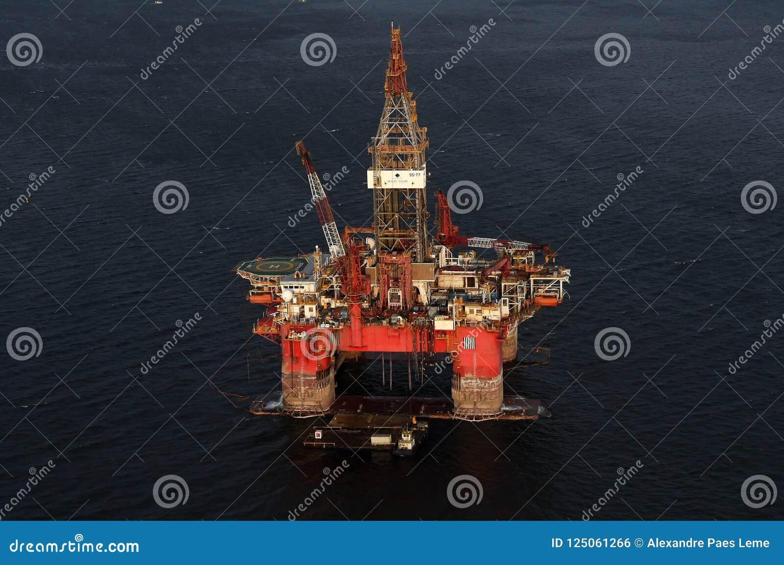 Olje- plattform SS77