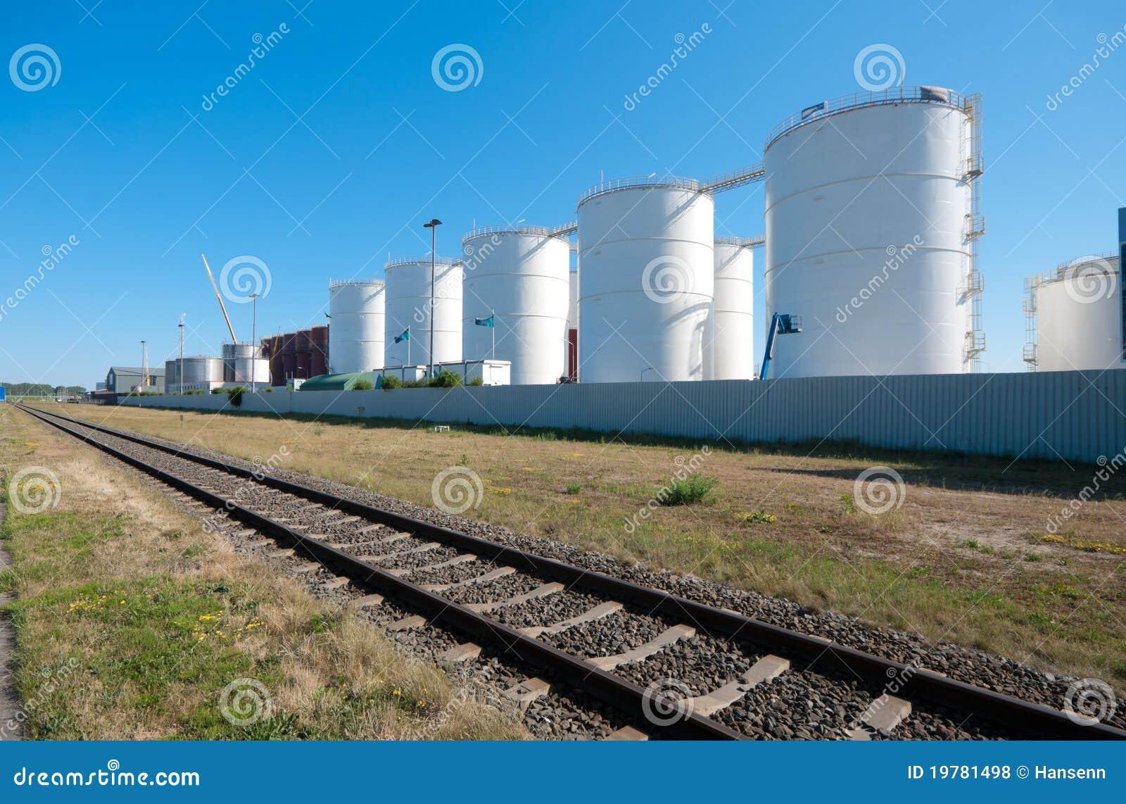 Oljebehållare