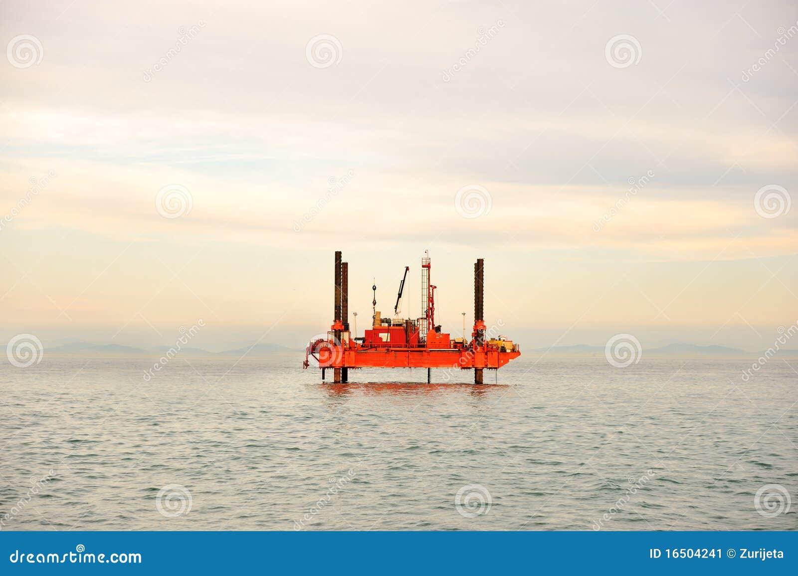 Oljeplattform