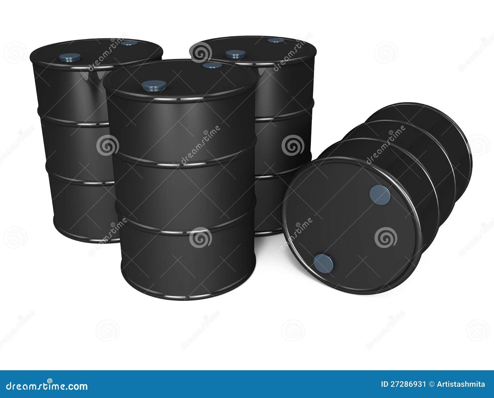 Oljetrummor