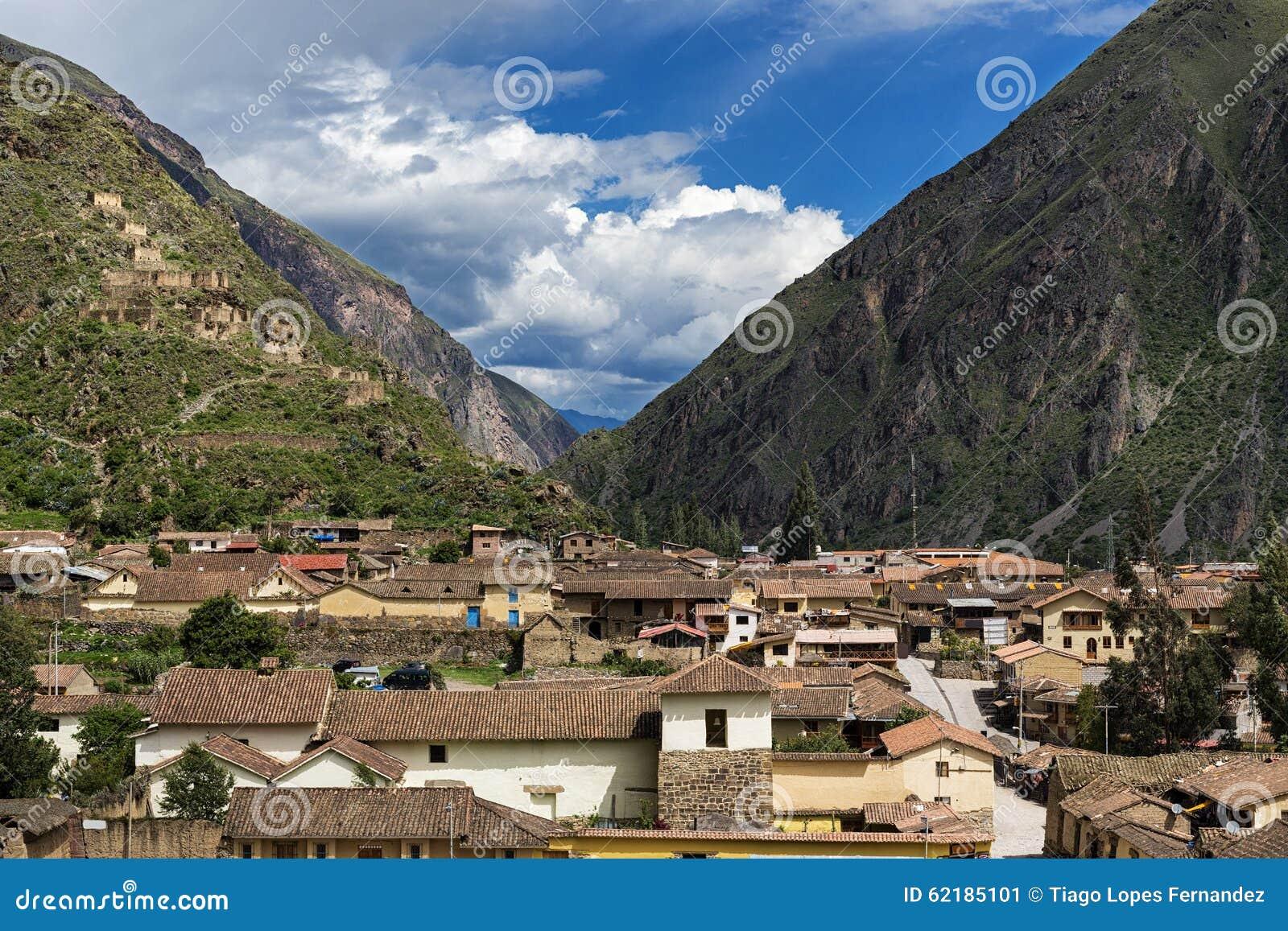 曰?X^y?-yol_ollantaytambo在神圣的谷破坏,秘鲁.
