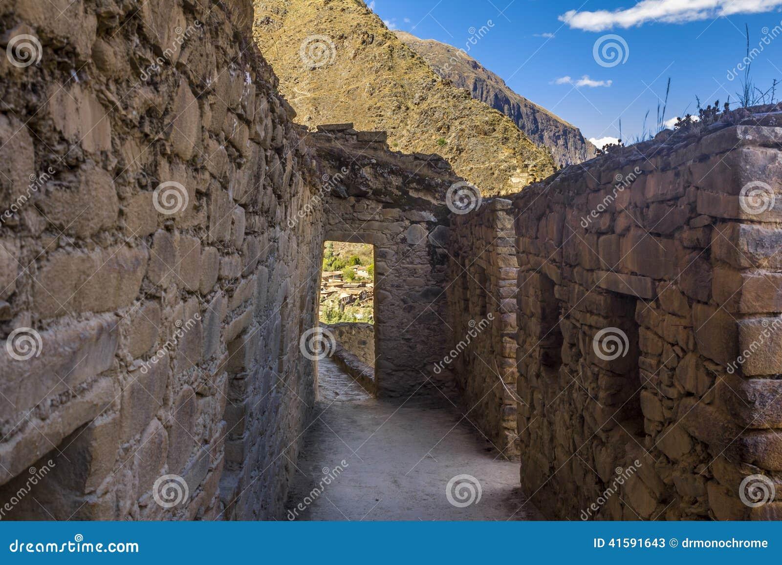 Ollantaytambo ruine Cuzco Pérou