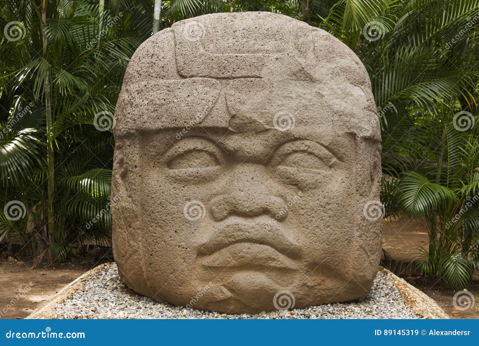 Olmec, Tabasco, Villahermosa, Meksyk, archeologia, turystyka