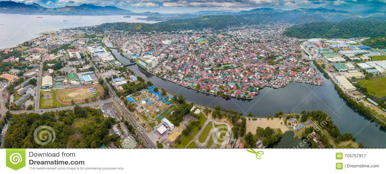 Olongapo miasto w Filipiny