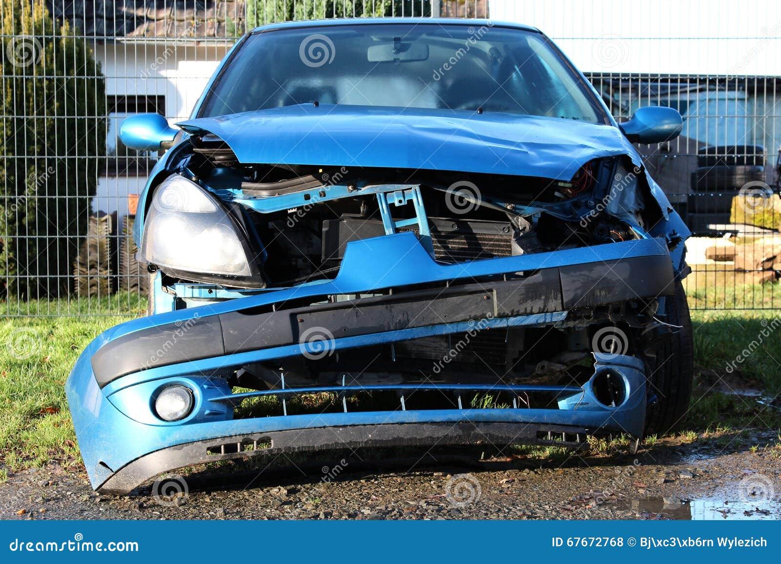Olycka skadlig bil