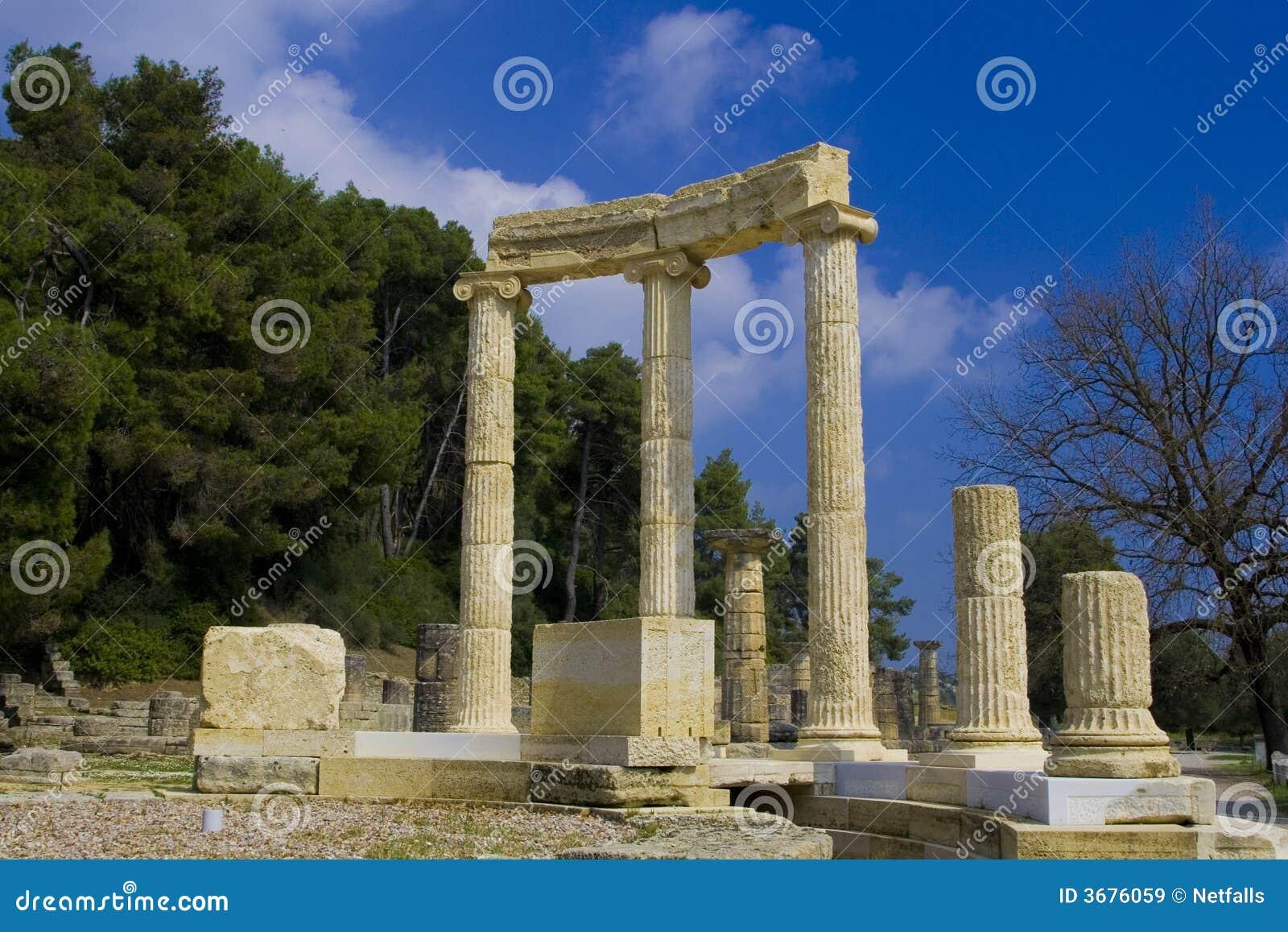 Download Olympia immagine stock. Immagine di museo, olympia, greece - 3676059