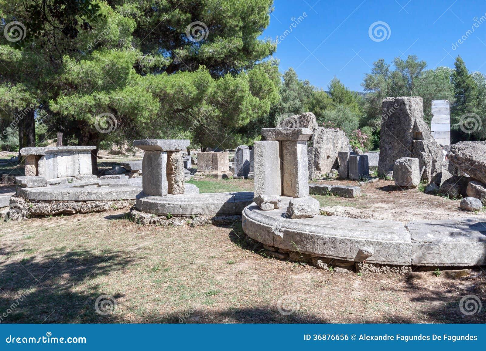 Download Olympia Greece fotografia stock. Immagine di alberi, europa - 36876656