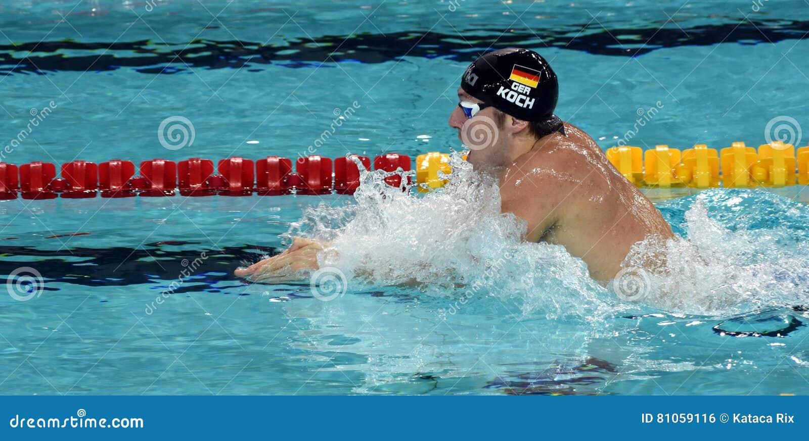 Olympian, wereldkampioen en recordhouderszwemmer Marco KOCH GER