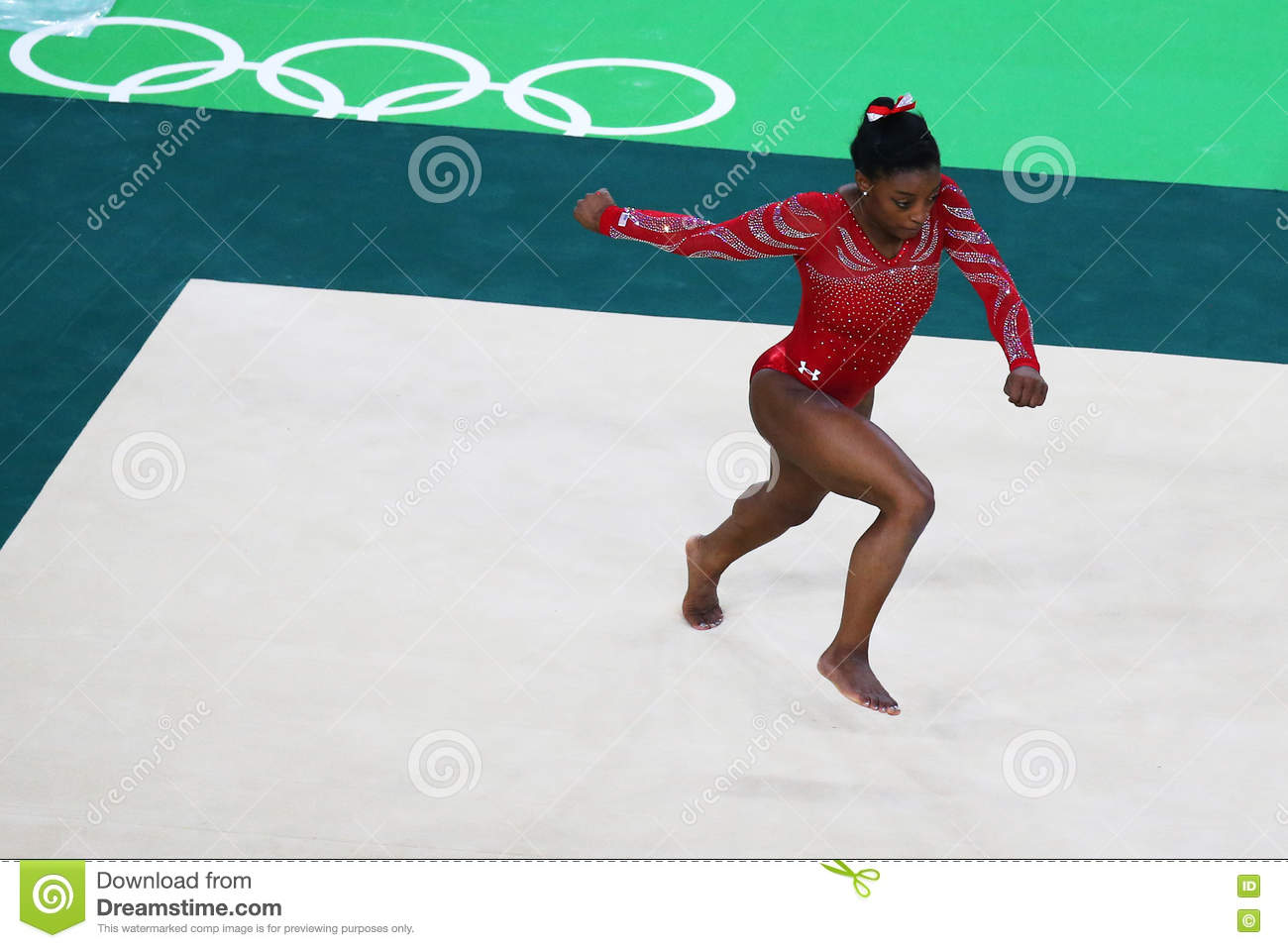 Olympic Champion Simone Biles Of United States During An